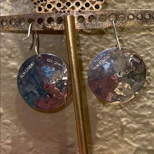 RLM Studio Sterling Silver Organic Disc Earrings